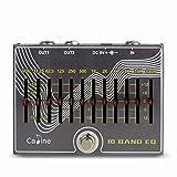 Caline CP-81, 10 Band EQ + Volume, Guitar Effect Pedal