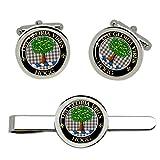 Giftshop UK Hogg Clan Escocés Gemelos y Corbata Clip Set