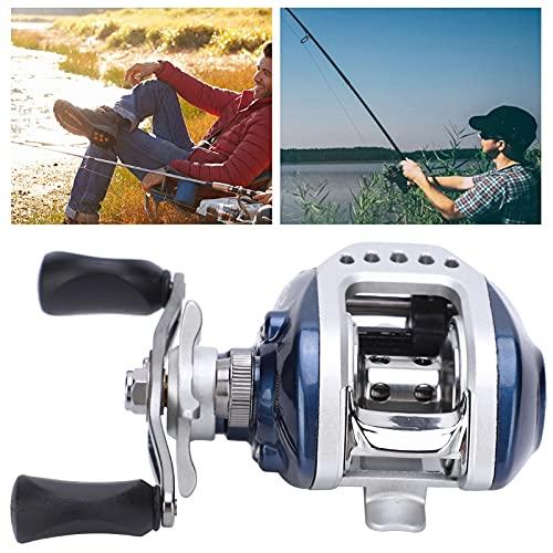 Carretel de pesca, conveniente de alta resistência 6,3: 1 Carretel de fundição para pesca marítima para pesca(Left hand wheel)