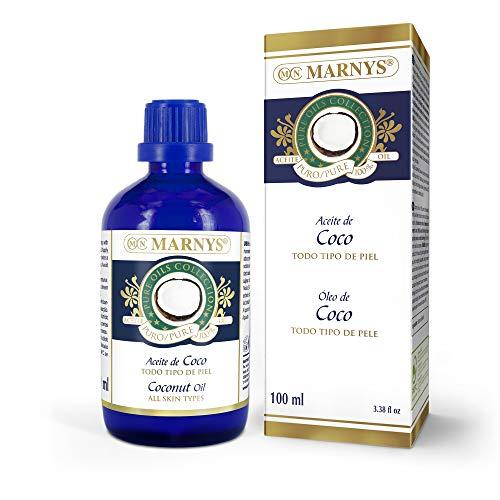 MARNYS Aceite de Coco Hidratante 100% Vegetal - 100 ml