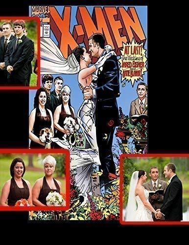 Personalized WEDDING Comic book Covers - Perfect Gift