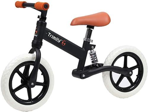 Para tu estilo de juego a los precios más baratos. CZALBL Bicicleta de Equilibrio para 2, 3, 3, 3, 4, 5, Niños y niñas de 6 años, Cuadro de Aluminio sin Entrenamiento de Equilibrio del Pedal, Adecuado para Niños pequeños,negro  respuestas rápidas