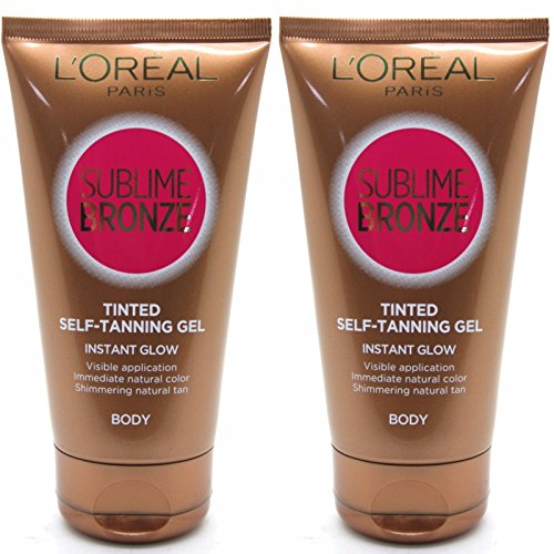 L'Oréal Sublime Bronze Body Body Gel Tan, 2 Stück