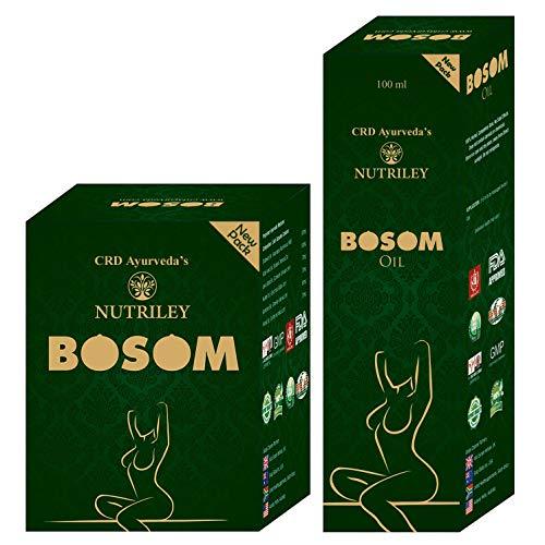 CRD Ayurveda Bosom Ayurvedic Breast Capsules & Oil for Women