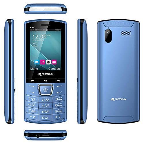 Micromax x741 Blue with 1750 mh Battery