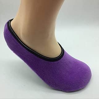 CherriGumi unexceptionable Slipper Winter Men Ladies Indoor Floor Soft Non-Slip Flock Home Shoes Sock Bling in fine Style