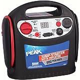 PEAK Portable Jump Starter with Inflator, 600 AMP
