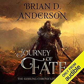 Journey of Fate                   Written by:                                                                                                                                 Brian D. Anderson                               Narrated by:                                                                                                                                 Derek Perkins                      Length: 11 hrs and 11 mins     3 ratings     Overall 4.7