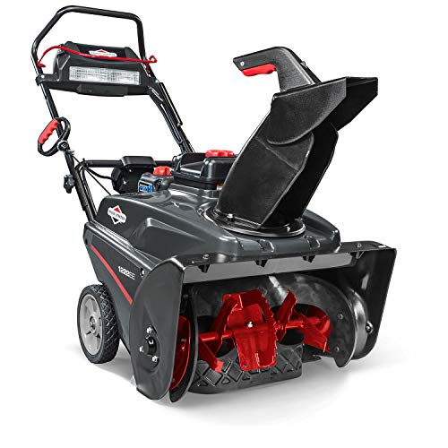 Briggs & Stratton 1222EE 22-Inch Single Stage Snow Blower with 250CC Engine, Electric Start, and...