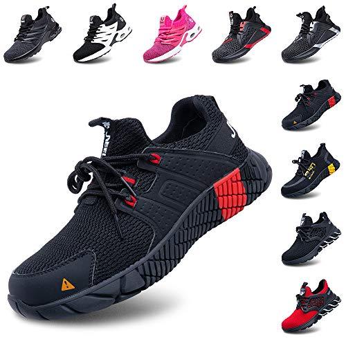 Zapatos de Seguridad Hombre Mujer Ligeros Calzado Zapatillas de Trabajo con Punta...