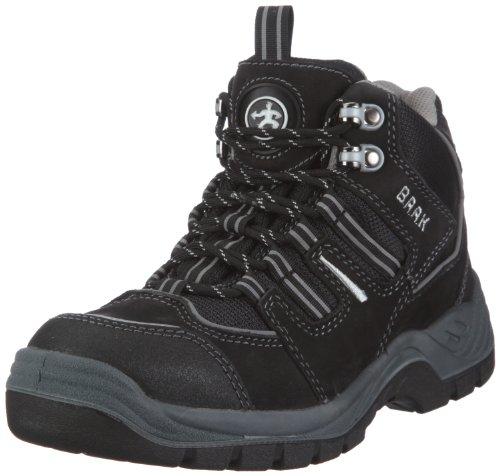 BAAK Sports 7304, Unisex - Erwachsene Stiefel, Schwarz (schwarz/silber), EU 47