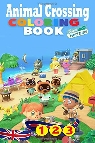 Animal Crossing New Horizons Coloring Book: for animal crossing switch game With 70+ High Quality Collection