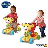 VTech Jirafa Scooter 4 en 1, andador evolutivo con actividades que se transforma...