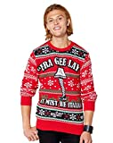 Fra Gee Lay Leg Lamp Ugly Christmas Sweater - A Christmas Story - XL