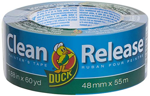 Duck Clean Release Blue Painter's Tape, 2-Inch...