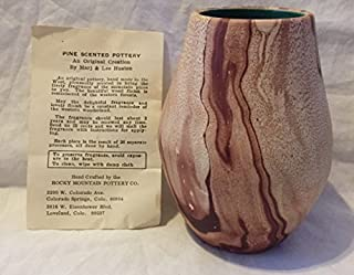 Rocky Mountain Pottery Pine scented Vase