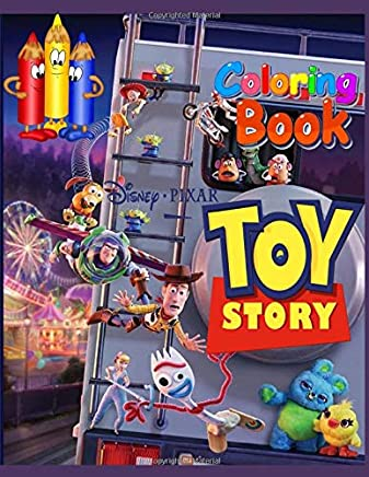 Disney Pixar, Toy Story: Coloring book: 60 exclusive coloring pages with Disneys favorite characters for boys and girls