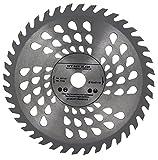 Lame de scie circulaire de qualité supérieure (Skill Saw) 160 mm pour coupe de bois circulaire 160 mm x 20 mm (16 mm) x 40 dents