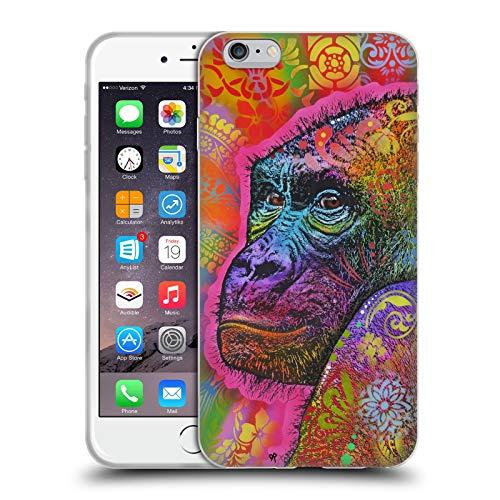 Head Case Designs Ufficiale Dean Russo Gorilla Vita Selvaggia 5 Cover in Morbido Gel Compatibile con Apple iPhone 6 Plus/iPhone 6s Plus