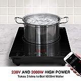 Zoom IMG-2 sunavo fornello elettrico 2000w piastra