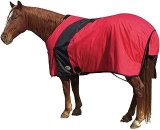 Exselle Prima Draft Horse Turnout Blanket - Red/Black - 98
