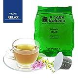 50 capsule compatibili Nespresso - 50 capsule tisana relax compatibili macchina caffè Nespresso - Macchina caffè Nespresso kit 50 capsule di tisana rilassante - Il Caffè Italiano