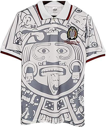 1998 Camiseta de fútbol Copa Mundial de México Retro, Local/Visitante Retro Nacional...
