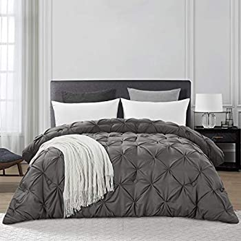Hombys Queen Size Goose Down Alternative Quilted Comforter