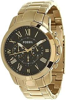 Fossil Men's Quartz Watch FS4815 with Metal Strap