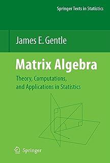 Matrix Algebra: Theory, Computations, and Applications in Statistics