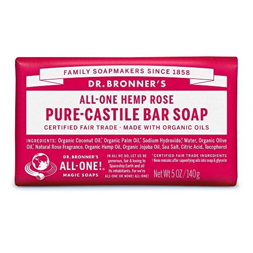 Organic Rose Soap Bar - 140g