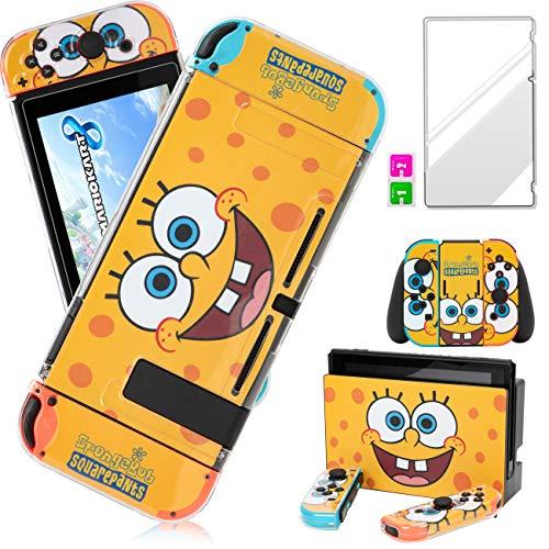 Darrnew SpongeB Skin for Nintendo Switch Cartoon Cute Fun Skins, Kawaii...
