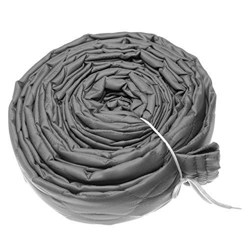 vhbw Schutzüberzug für Zentral-Staubsaugerschlauch, Durchmesser: 65mm, Länge: 12m, z.B. von Vacuflo, Crossvac, Nilfisk