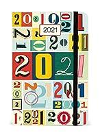 2021手帳 CAVALLINI ウィークリープランナー/ナンバー