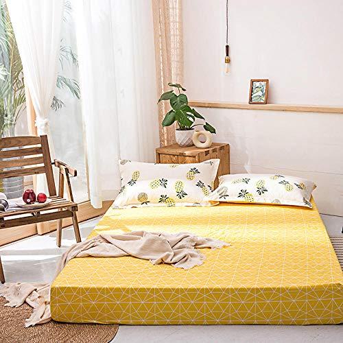 B/H Modernen Farben Bettlaken,Bettdecke aus Reiner Baumwolle mit modischer Tagesdecke-M_150 * 200cm,Atmungsaktiv Bettlaken