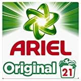 Ariel Original Lessive Poudre, 21 Lavages (1.365 kg), Élimine les Taches Tenaces et ne Laisse pas de Résidus