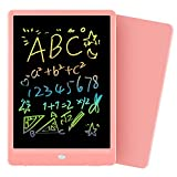 Orsen Girls Toys Gifts LCD Writing Tablet 10 Inch, Colorful Doodle Board Drawing Tablet, Erasable Reusable Writing Pad, Educational Christmas Girls Toys Gifts for 3 4 5 6 Year Old Girls(Pink)