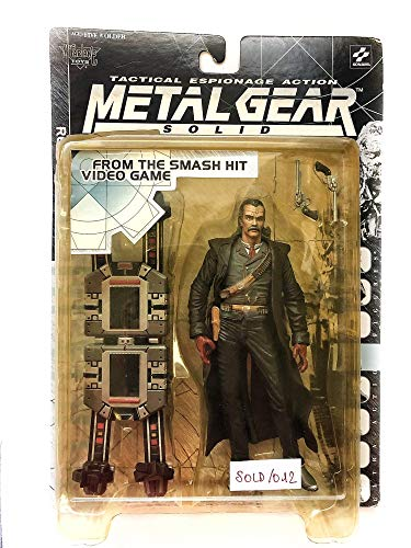 USA OFFICIAL Action Figure Revolver Ocelot 18 CM Metal Gear Solid 1997 MC FARLANE MGS #2