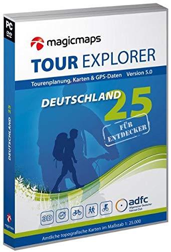 Tour Explorer 25 Deutschland -  Set West: Nordrhein-Westfalen, Hessen / Rheinland-Pfalz / Saarland, Version 5.0