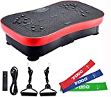 FITODO Vibration Platform Plate Crazy Fit Workout Machine——Fitness for Home and Office/Balance Training/Stretching