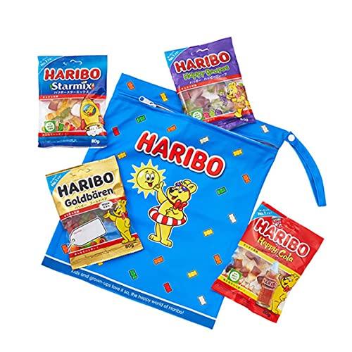 HARIBO ゴールドベア バケーションバッグ 4種類のハリボーグミ入り