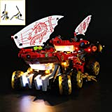 QJXF Juego De Luces USB Compatible con Lego Ninjago Tierra Bounty 70677, LED Light Kit para (Tierra Bounty) De Bloques De Creación De Modelos (No Incluido Modelo)
