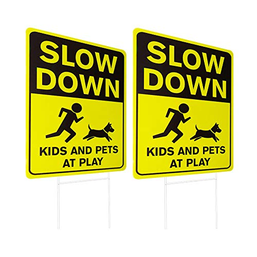 slow for kids sign - 7