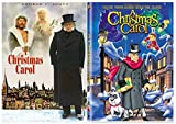 A Christmas Carol: George C Scott & A Christmas Carol: Tim Curry - Christmas Holiday Movies 2-Pack