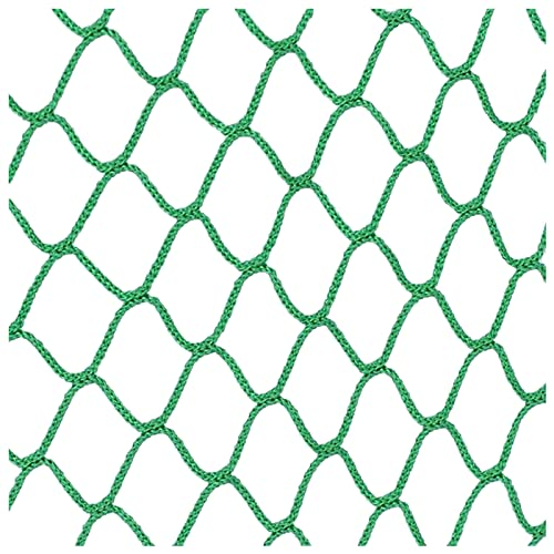 Fallschutznetz Zaunnetze Kindersicherheitsnetz Sicherheitsnetz Maschennetz Treppennetz Zaunnetze Balkon Anti-Fallnetz Absturzsicherungsnetz Haustierschutznetz5mm Sei(Size:1*5m/3.3*16ft ,Color:Grün)