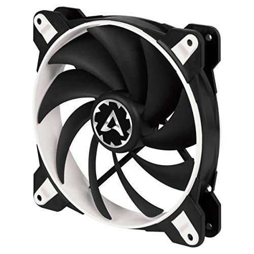 ARCTIC BioniX F140 - 140 mm Gaming Gehäuse-Lüfter mit PWM PST, Case Fan mit PST-Anschluss (PWM Sharing Technology), Reguliert RPM synchron, 200-1800 U/min. - Weiß