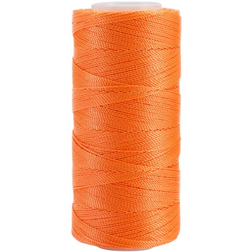 Iris 2-472 Nylon Crochet Thread, 300-Yard, Neon Orange