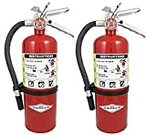 Amerex B500, 5lb ABC Dry Chemical Class A B C Fire Extinguisher (2)...