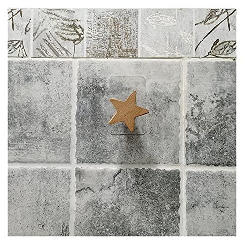 Chenhan Porta Carta Igienica Asciugamani da 2 Colori WC Asciugamani in Legno Porta Rotolo di Carta per Il Bagno Contattare Il Supporto per la Carta Deposito per la casa Conservazione