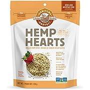 Manitoba Harvest Hemp Hearts Shelled Hemp Seeds, 454g; 10g Plant-Based Protein & 12g Omegas per Serving, Whole 30 Approved, Vegan, Keto, Paleo, Non-GMO, Gluten Free